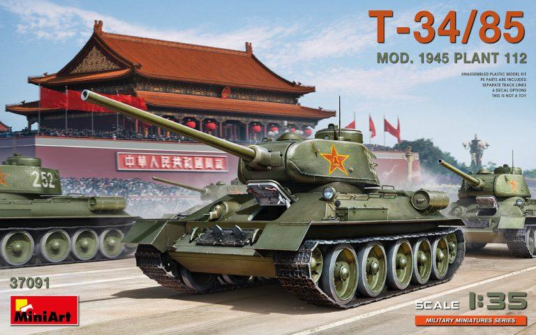 T-34/85 MOD. 1945. PLANT 112