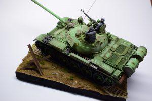 37068 T-55 POLISH PROD. + Krzy Dek