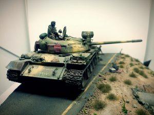 37018 T-55 Mod. 1963 INTERIOR KIT + Fanýs Kočkojed