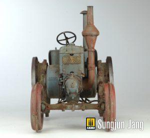 38024 GERMAN AGRICULTURAL TRACTOR D8500 MOD. 1938 + Sungjun Jang