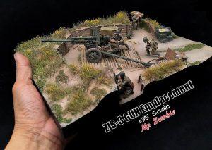 36058 ZIS-3 GUN Emplacement + E-Num Naronkorn Mr. Zombie