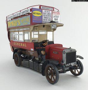 38021 LGOC B-TYPE LONDON OMNIBUS + Merin