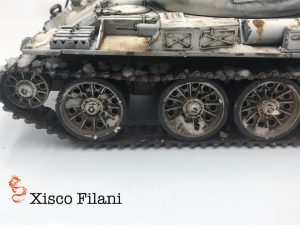 37014 T-54-1 SOVIET MEDIUM TANK Mod. 1947 + Xisco Filani Gomez
