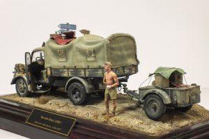 35150 MB 1500A 4×4 CARGO TRUCK + Bernhard Lustig
