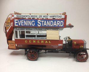 38021 LGOC B-TYPE LONDON OMNIBUS + Clive Osbaldeston