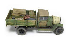 35134 GAZ-MM Mod.1943 CARGO TRUCK + AK-Interactive