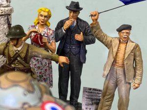 38004 FRENCH CIVILIANS '30s-'40s + Yoshihiko Tanaka