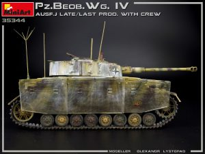 Photos 35344 Pz.Beob.Wg.IV Ausf. J LATE/LAST PROD. 2 IN 1 W/CREW