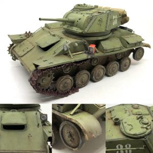 35243 T-80 SOVIET LIGHT TANK w/CREW. SPECIAL EDITION + zif.modelling