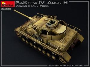 35298 Pz.Kpfw.IV Ausf. H Vomag. EARLY PROD. MAY 1943. INTERIOR KIT + Olexandr Lystopad