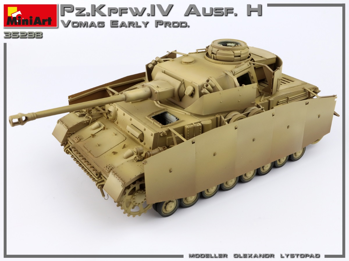 New Build Up of Kit: 35298 Pz.Kpfw.IV Ausf. H Vomag. EARLY PROD. MAY 1943. INTERIOR KIT