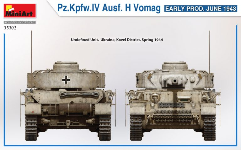 35302 Pz.Kpfw.IV Ausf. H Vomag. EARLY PROD. JUNE 1943