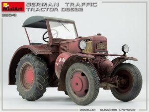 Photos 38041 ドイツ製トラフィック トラクター D8532