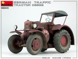 Photos 38041 GERMAN TRAFFIC TRACTOR D8532