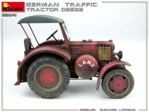 38041 GERMAN TRAFFIC TRACTOR D8532 + Olexandr Lystopad