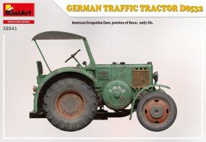 Side views 38041 ドイツ製トラフィック トラクター D8532
