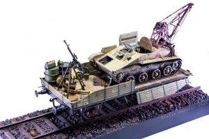 35238 BERGEPANZER T-60 ( r ) INTERIOR KIT + 35303 SOVIET RAILWAY FLATBED 16,5-18t + 35597 GERMAN 200L FUEL DRUMS WW2 + 35588 GERMAN JERRY CANS SET WW2 + Štefan Pásztor