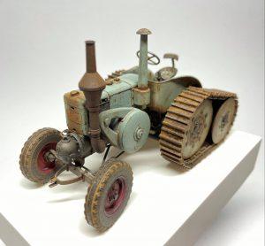 38024 GERMAN AGRICULTURAL TRACTOR D8500 MOD. 1938 + Gordon Ferguson