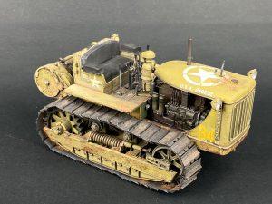 35174 U.S. TRACTOR D7 w/Towing Winch D7N + Alexander Kashinsky