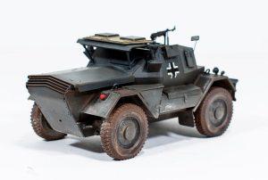 35074 DINGO Mk.II SCOUT CAR w/CREW Pz.Kmpf. Mk.I 202(e) + Christos Athanasiou