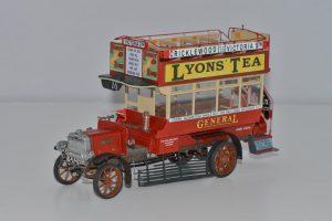 38031 B-TYPE LONDON OMNIBUS 1919 + Jacques Dupriez