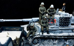 35150 MB 1500A 4×4 CARGO TRUCK + 35218 GERMAN SOLDIERS (WINTER 1941-42) + 35075 TOTENKOPF DIVISION. KHARKOV 1943 35280 GERMAN TANK CREW. KHARKOV 1943 + scale_ua