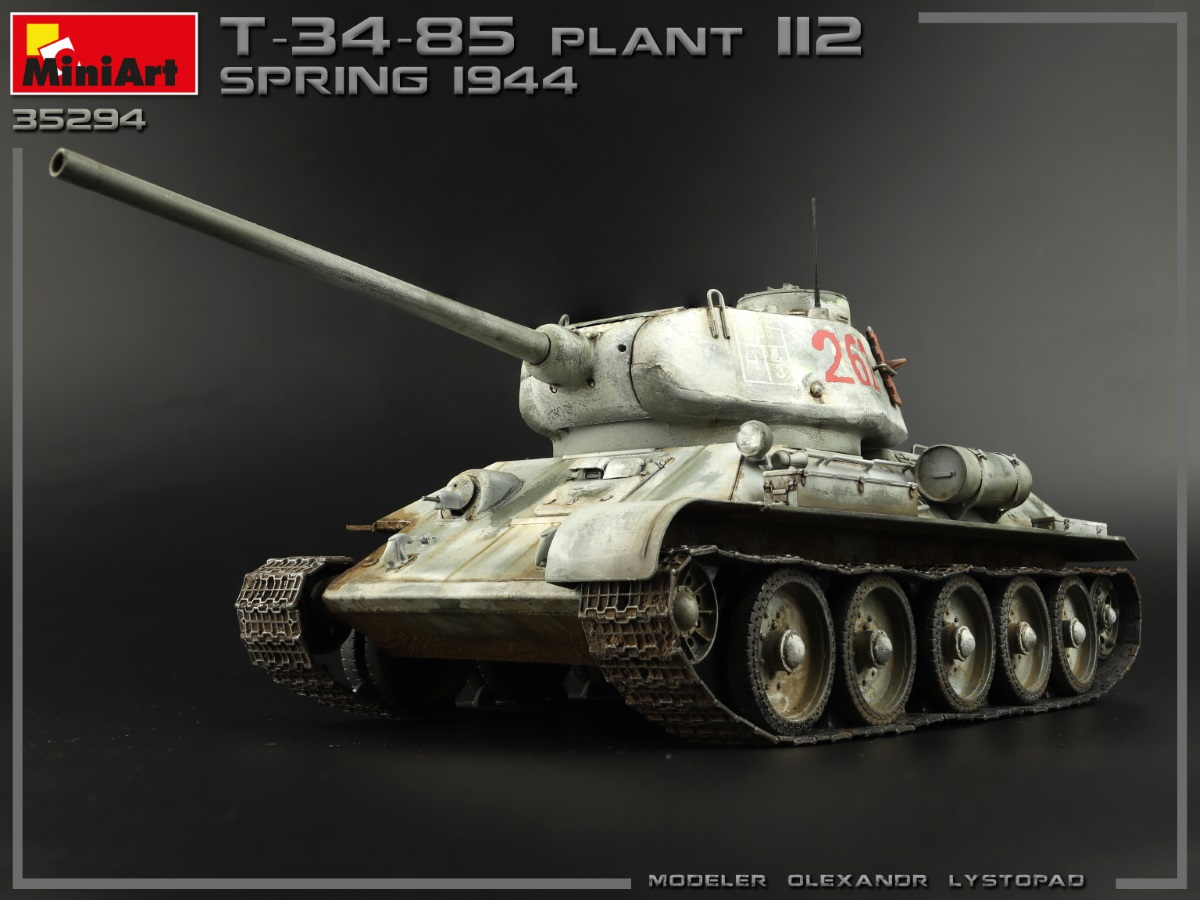 New Photos of Kit: 35294 T-34/85 PLANT 112. SPRING 1944. INTERIOR KIT