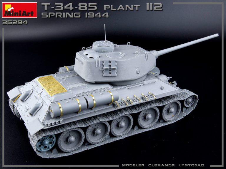 35294 T-34/85 PLANT 112. SPRING 1944. INTERIOR KIT