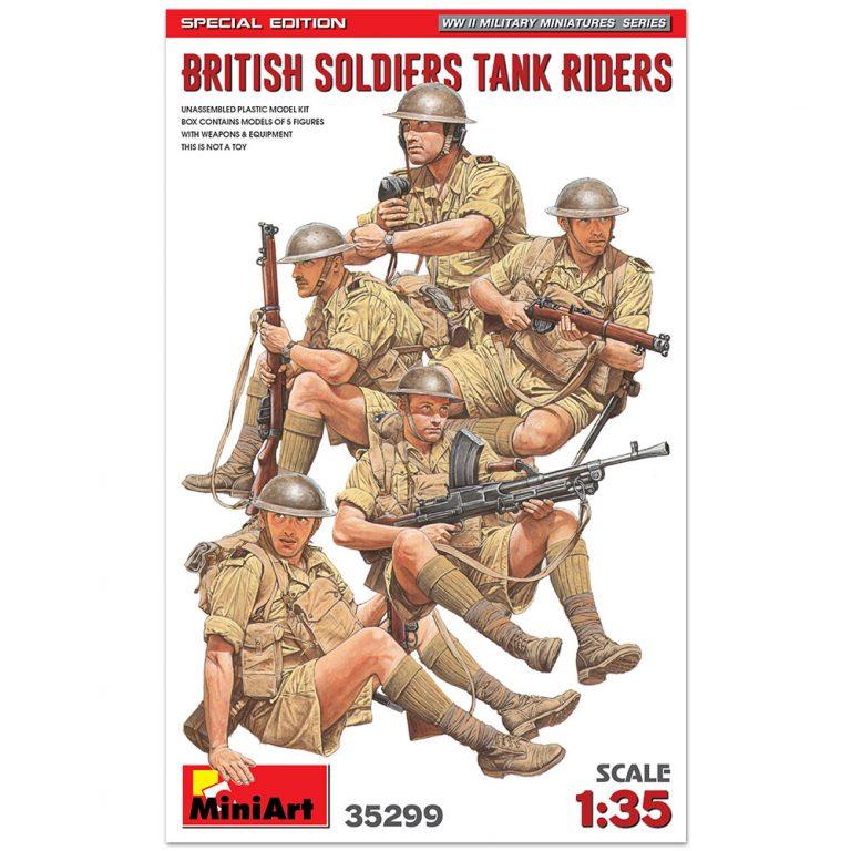 イギリス戦車兵 5体入 特別版(武器・装備品付)