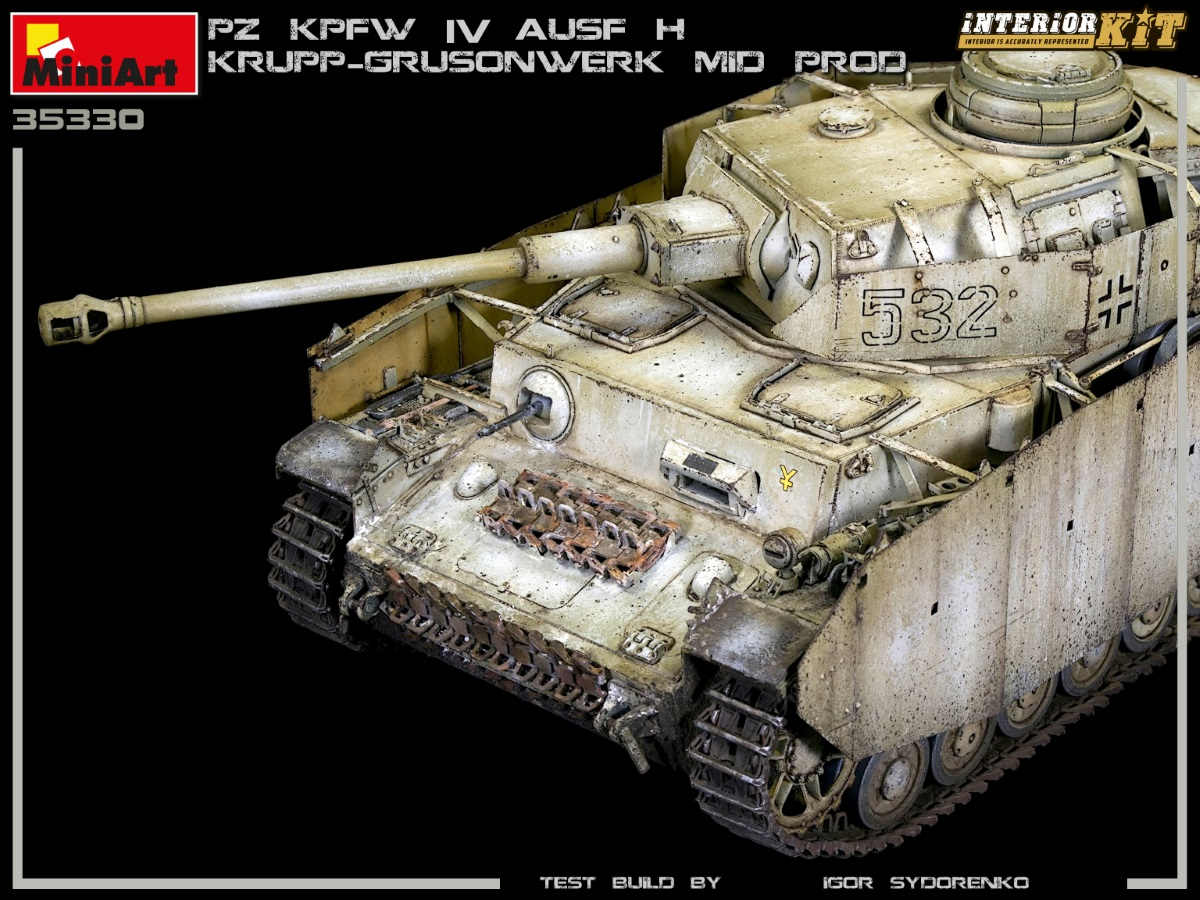 New Photos of Kit: 35330 Pz.Kpfw.IV Ausf. H KRUPP-GRUSONWERK. MID PROD. AUG-SEP 1943. INTERIOR KIT