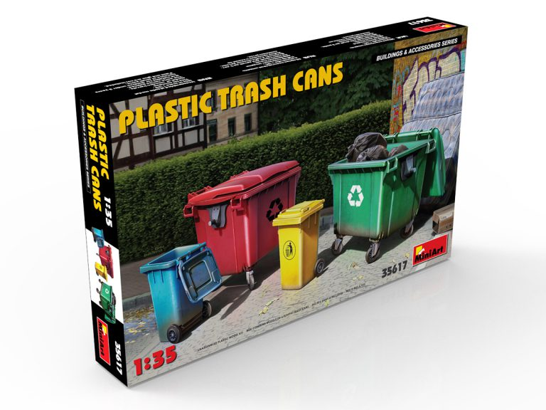 35617 PLASTIC TRASH CANS