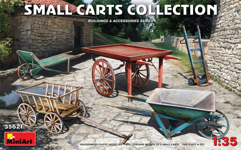 35621 SMALL CARTS COLLECTION