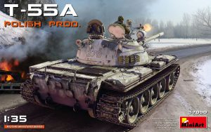 37090 T-55A POLISH PRODUCTION + Peter Robinson