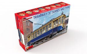 "Content box 38026 TRAMWAY ""X"" SERIES MID TYPE"