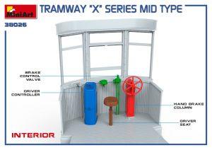 3D renders 38026 路面電車Xシリーズ中期型