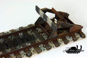 35568 RAILWAY TRACK w/ DEAD END. EUROPEAN GAUGE + Jose Luis Galiano Hevilla