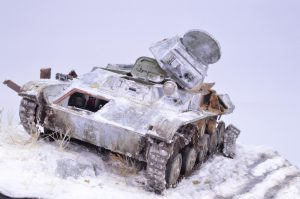 35215 T-60 EARLY SERIES. SOVIET LIGHT TANK. INTERIOR KIT + Dustin Dias