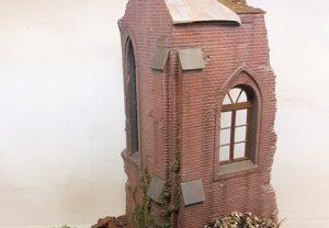 35533 RUINED CHURCH + Panzer Nick