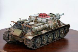 35181 SU-122 Early Production + Mumu zheng's Scale model