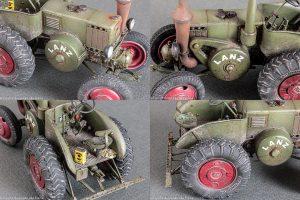 38029 GERMAN TRACTOR D8506 MOD. 1937 + Egor Foriss