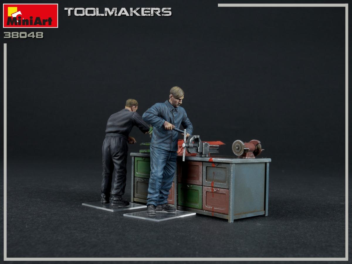 New Photos of Kit: 38048 TOOLMAKERS