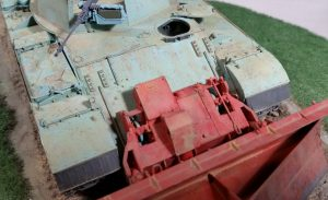 37028 SLA APC T-54 w/DOZER BLADE. INTERIOR KIT + Bill Goodrich