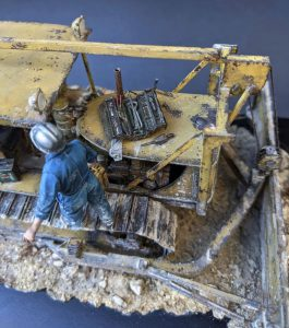 38022 U.S. BULLDOZER + Michael Volquarts Miniatures