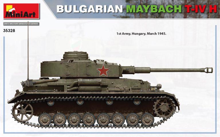 35328 BULGARIAN MAYBACH T-IV H