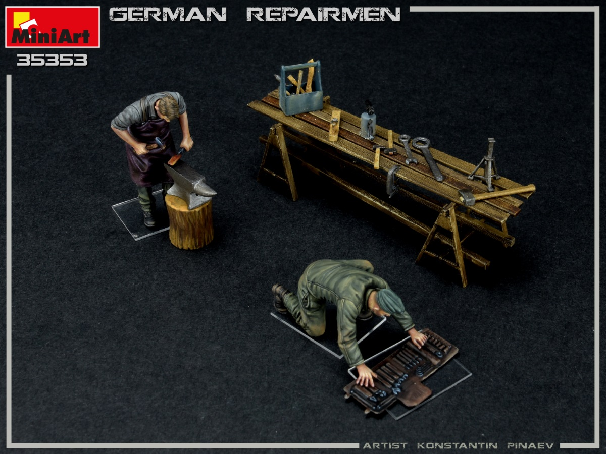 New Photos of Kit: 35353 GERMAN REPAIRMEN