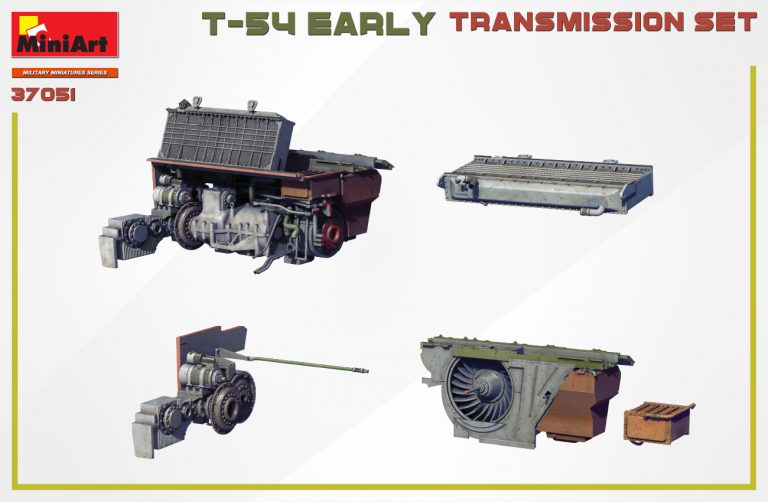 37051 T-54 EARLY TRANSMISSION SET