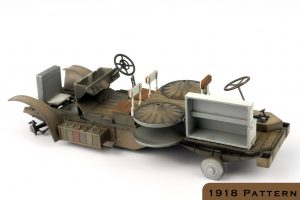 39005 AUSTIN ARMORED CAR 3rd SERIES: UKRAINIAN, POLISH, GEORGIAN, ROMANIAN SERVICE. INTERIOR KIT + 39009 AUSTIN ARMOURED CAR 1918 PATTERN. BRITISH SERVICE. WESTERN FRONT. INTERIOR KIT + Andy Moore
