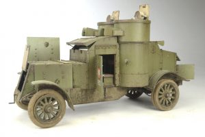 39005 AUSTIN ARMORED CAR 3rd SERIES: UKRAINIAN, POLISH, GEORGIAN, ROMANIAN SERVICE. INTERIOR KIT + Sungjun Jang
