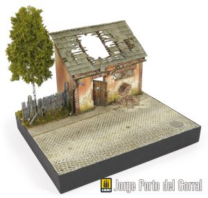 36032 DIORAMA WITH BARN + Jorge Porto Del Corral