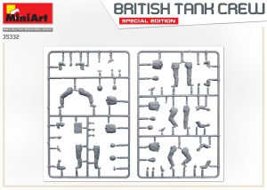 Content box 35332 BRITISH TANK CREW. SPECIAL EDITION